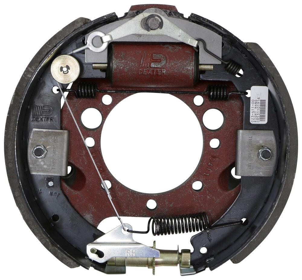 "Dexter Hydraulic Drum Brake Assembly - Duo Servo - 12-1/4"" - Right Hand - 9,000 - 10,000 lbs Dual Servo,Self Adjust 23-411"