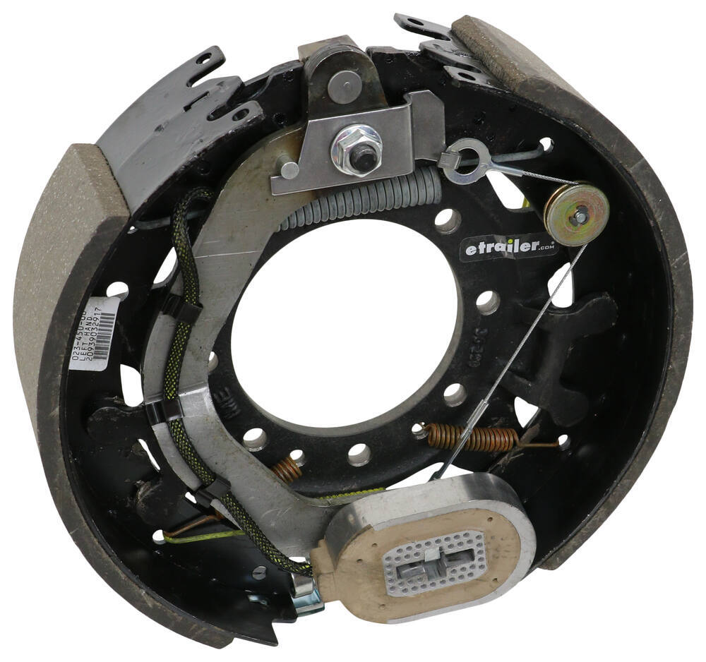 "Dexter Electric Trailer Brake Assembly - Self-Adjusting - 12-1/4"" - Left Hand - 9K to 10K 9000 lbs,10000 lbs 23-450"