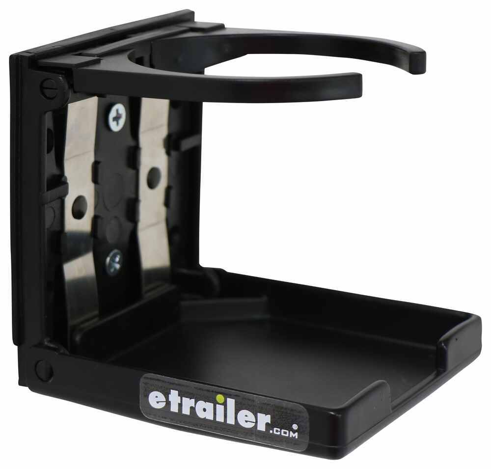 Optronics Foldable Cup Holder Black 2409171B