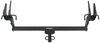 """Draw-Tite Sportframe Trailer Hitch Receiver - Custom Fit - Class I - 1-1/4"""" Visible Cross Tube 24870"""