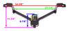 24899 - 2000 lbs GTW Draw-Tite Trailer Hitch
