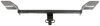 """Draw-Tite Sportframe Trailer Hitch Receiver - Custom Fit - Class I - 1-1/4"""" Concealed Cross Tube 24972"""