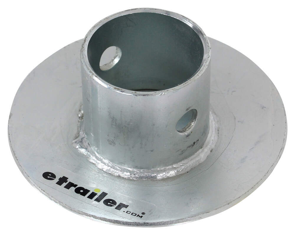 Replacement Foot Pad for Stromberg Carlson Electric A-Frame Tongue Jack 2 Inch Diameter Tubing 2500-25