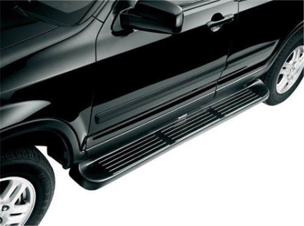 "Westin Molded Running Boards w/ Custom Installation Kit - 6"" Wide - Black Fixed Step 27-0020-2145"