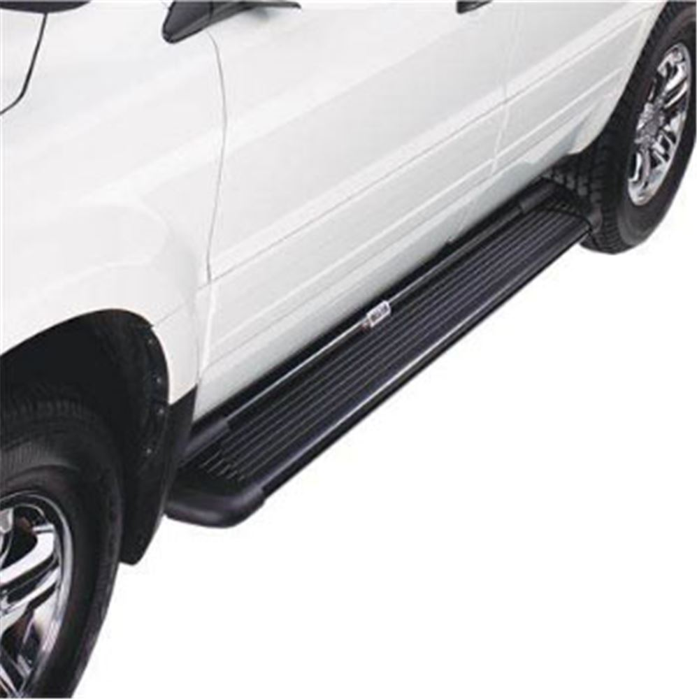 "Westin Sure-Grip Running Boards w/ Custom Installation Kit - 6"" Wide - Black Aluminum Cab Length 27-6135-2175"