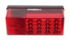"LED Tail Light for Trailers Over 80"" Wide - 8 Function - Submersible - 22 Diodes - Driver Side Red 271575"
