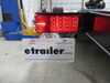 "LED Tail Light for Trailers Over 80"" Wide - 8 Function - Submersible - 22 Diodes - Driver Side 8L x 3W Inch 271575"