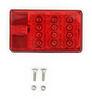 271585 - Stop/Turn/Tail,Side Marker,Side Reflector,Rear Reflector,License Plate Wesbar Trailer Lights