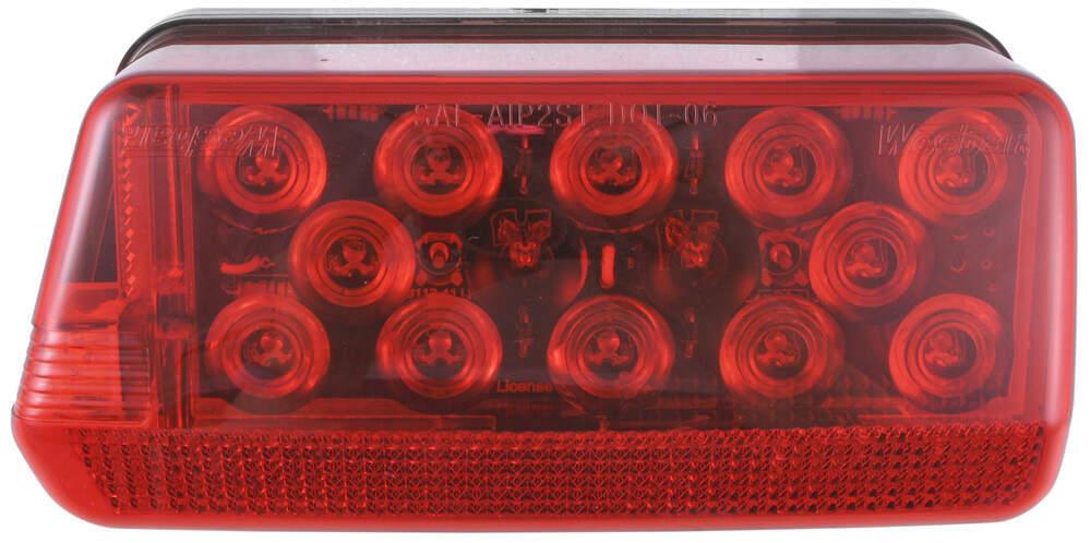 Wesbar Red Trailer Lights - 271595