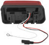 "Wraparound LED Tail Light for Trailers Over 80"" - 8 Function - Submersible - Red - Driver LED Light 271595"