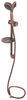Ultra Faucets Hand Held Shower Set with Slide Bar - Oil Rubbed Bronze Bronze 277-000066