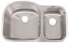 Patrick Distribution Offset Double Bowl Stainless Steel RV Kitchen Sink Double Sink 277-000077