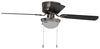 RV Ceiling Fans 277-000083 - Brushed Chrome - AirrForce