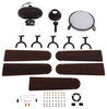 """42"""" RV Ceiling Fan with Light Kit - Oil Rubbed Bronze Contemporary Style Light 277-000115"""