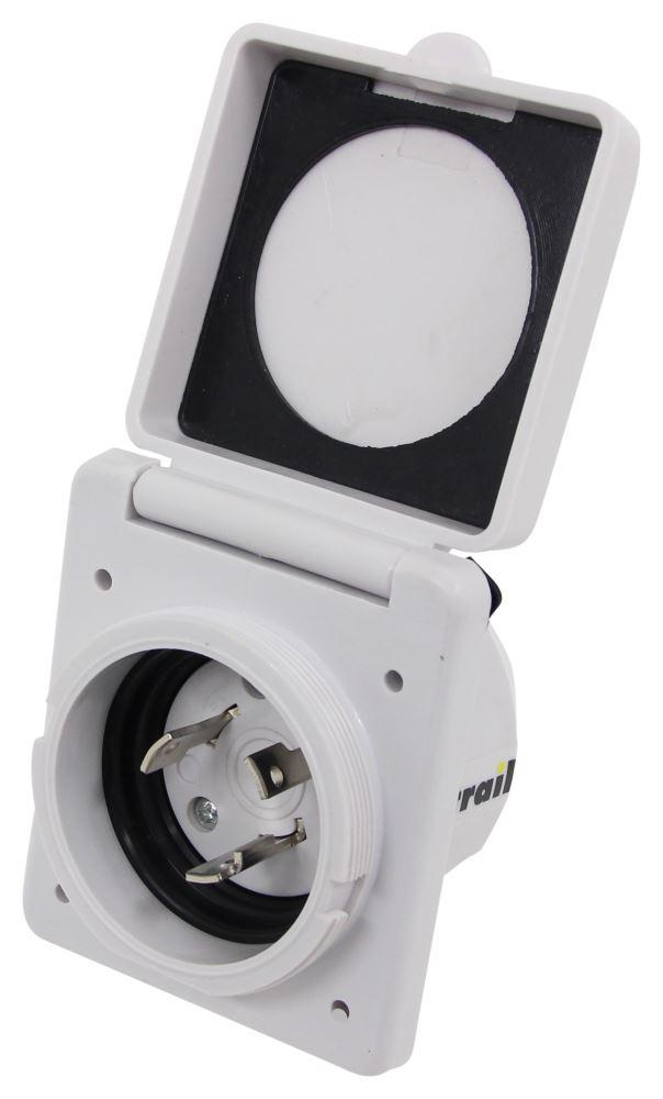 277-000137 - White Epicord Power Inlets