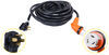 Epicord RV Power Cord with Handle - 50 Amp Male to Twist Lock Female Connector - 50' Long 50 Feet Long 277-000157