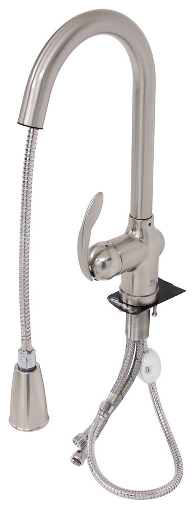 ultra faucets rv kitchen faucet w/ pull down spout