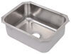 "Single Bowl RV Kitchen Sink - 23-1/2"" Long x 18-1/4"" Wide - Stainless Steel Single Sink 277-000202"