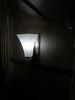 Gustafson RV Sidewall Light - Satin Nickel - White Glass Incandescent Light 277-000250