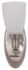 Gustafson RV Sidewall Light - Satin Nickel - Frosted White Glass Satin Nickel 277-000254