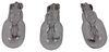 Gustafson RV Wall Sconce - Satin Nickel Base & Trim - White Acrylic Shade Incandescent Light 277-000264
