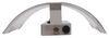 Gustafson RV Wall Sconce - Satin Nickel Metal Overlay - White Acrylic Shade Incandescent Light 277-000265