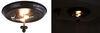 "Gustafson RV Ceiling Light - Flat Black - 11"" Black 277-000295"