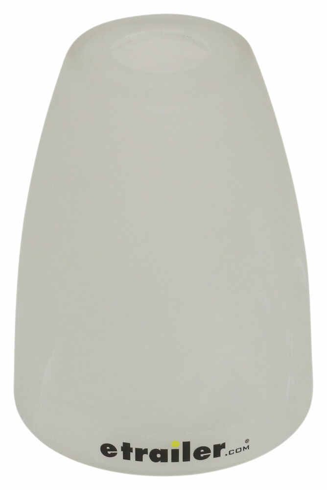 Gustafson Glass for RV Pendant and Sidewall Lights - White Swirl Light Shades 277-000430