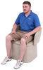 RV Chair and Ottoman w/ Storage Compartment - Tan Tan 277-000603