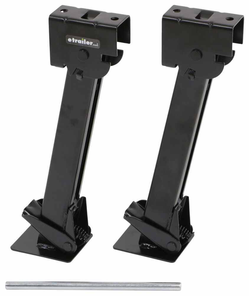 "Stallion Stabilizer Jacks - 7"" Drop Leg Travel - 22-1/4"" - Qty 2 Bolt-On,Weld-On 288-01892-2"