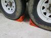 etrailer Wheel Chocks - Polyurethane - Qty 2 Polyurethane 288-02011-2