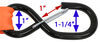 etrailer ratchet straps s-hooks 11 - 20 feet long dimensions