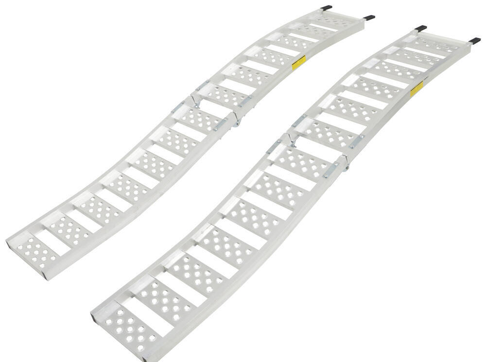 """Arched Loading Ramp Set - Center Fold - Aluminum - 88-9/16"""" Long x 13"""" Wide - 1.5K 13 Inch Wide 288-07452-2"""