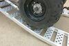 "Arched Loading Ramp Set - Center Fold - Aluminum - 88-9/16"" Long x 13"" Wide - 1.5K Aluminum 288-07452-2"
