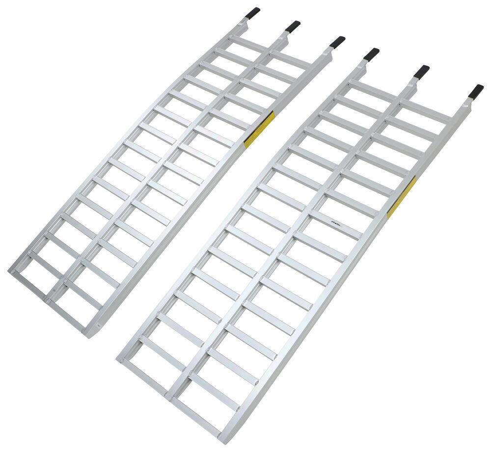 """Loading Ramp Set - Aluminum - 65"""" Long x 20-1/2"""" Wide - 3,000 lbs - Qty 2 3000 lbs 288-07489"""