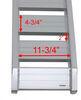 "Aluminum Car Hauler Ramp Set - 60"" x 14-1/2"" - 6,000 lbs - Qty 2 Car Hauler Ramps 288-07502"