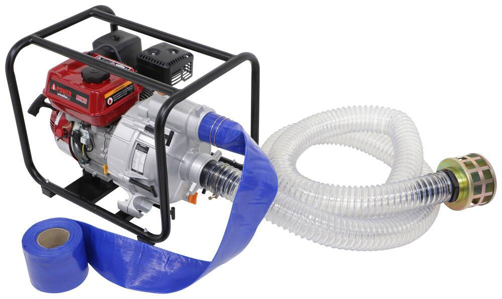 """A-iPower Trash Pump - 255 Gallons Per Minute - 3"""" Inlet and Outlet Ports Trash Water Pump 289-AWP80"""