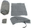 Adco SFS AquaShed Truck Camper Cover - 20-3/16' Long - Gray Gray 290-12263