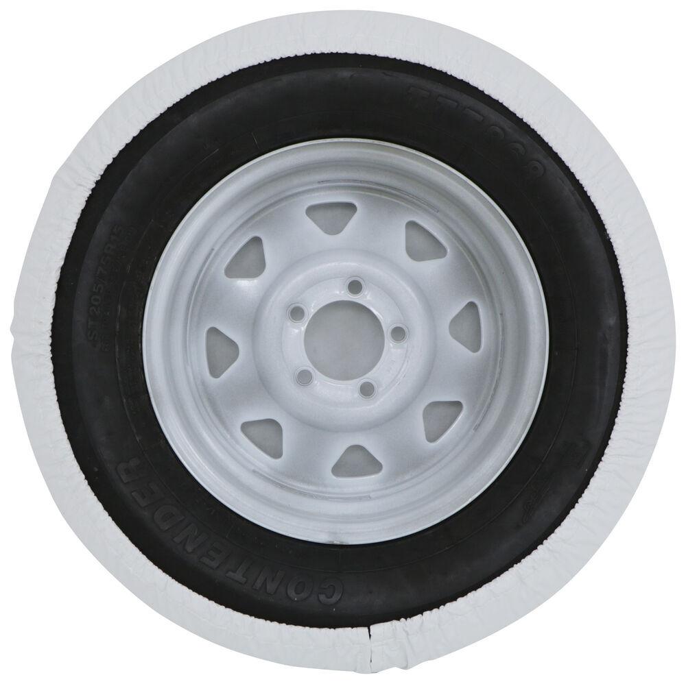"ADCO White Vinyl Spare Tire Cover 29/"" Part#-1755"