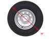 "Adco US Flag Spare Tire Cover - 28"" Diameter - Vinyl - White US Flag 290-1786"