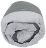 Adco Tyvek All-Climate + Wind RV Cover for Pop-Up Camper - Up to 18' Long - Gray Gray and White 290-22895