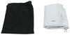 Adco RV Windshield Cover for Class C Motorhome - Vinyl - White White 290-2405