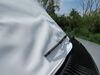 Adco RV Windshield Cover for Class C Motorhome - Vinyl - White White 290-2407