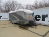 Adco Tyvek All-Climate + Wind RV Cover for Travel Trailer - Up to 22' Long - Gray All Climates 290-34841