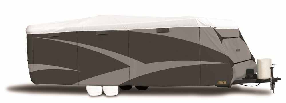 RV Covers 290-34847 - Gray and White - Adco