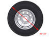290-3932 - Black Adco Tire and Wheel Covers