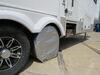 "Adco Tyre Gard RV Wheel Covers - Single Axle - 30"" to 32"" Diameter - Diamond Plate - Qty 2 Wheel Covers 290-3752"
