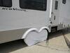 """Adco Tyre Gard RV Wheel Cover - Double Axle - 30"""" to 32"""" Diameter - Vinyl - White - Qty 1 White 290-3922"""