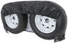 "Adco Tyre Gard RV Wheel Cover - Double Axle - 30"" to 32"" Diameter - Vinyl - Black - Qty 1 Wheel Covers 290-3932"