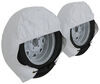 290-3953 - White Adco Tire and Wheel Covers